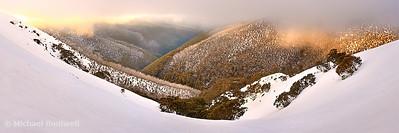 Foggy Dawn, Mt Hotham, Victoria, Australia
