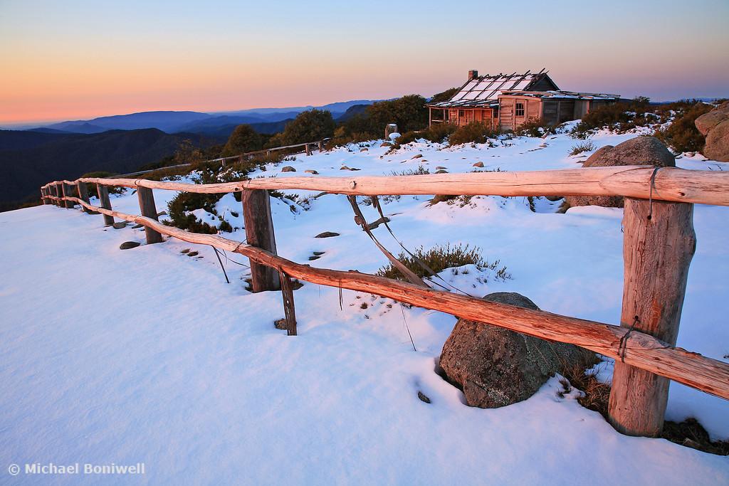 Fading Light, Craigs Hut, Mt Stirling, Victoria, Australia