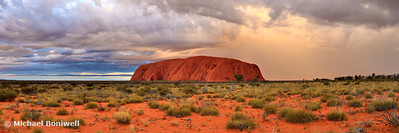 Uluru (Ayers Rock) Sunset, Northern Territory, Australia