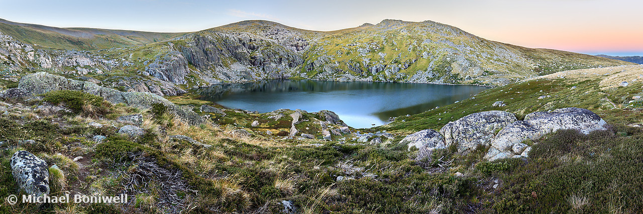 Blue Lake, Kosciuszko National Park, NSW, Australia