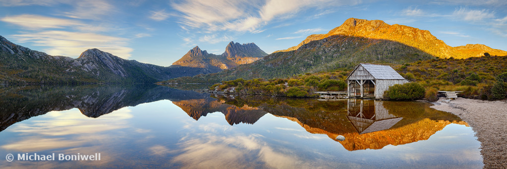 Dove Lake Boat Shed, Cradle Mountain, Tasmania, Australia