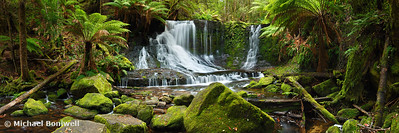 Horseshoe Falls, Mt Field National Park, Tasmania, Australia
