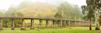 Foggy Trestle Bridge, Timboon, Victoria, Australia
