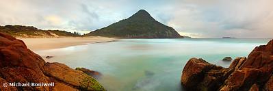 Zenith Beach, Shoal Bay, New South Wales, Australia