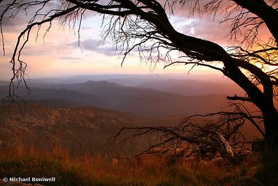 The Horn Sunset, Mt Buffalo, Victoria, Australia