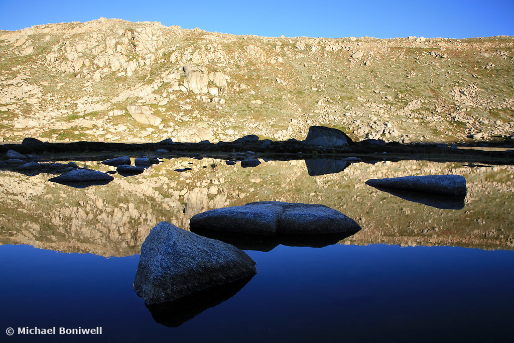 Early Morning Reflections, Mt Kosciuszko Summit, New South Wales, Australia