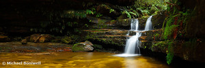 Terrance Falls, Hazelbrook, Blue Mountains, New South Wales, Australia