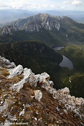 Frenchmans Cap Summit View, Franklin-Gordon Wild Rivers National Park, Tasmania, Australia