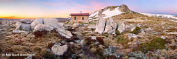 Seamans Hut, Mt Kosciuszko, New South Wales, Australia