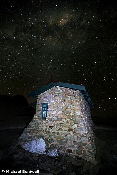 Star Filled Sky, Seamans Hut, New South Wales, Mt Kosciuszko, Australia