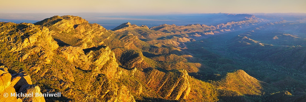 Sunrise from St Marys Peak, Flinders Ranges, South Australia