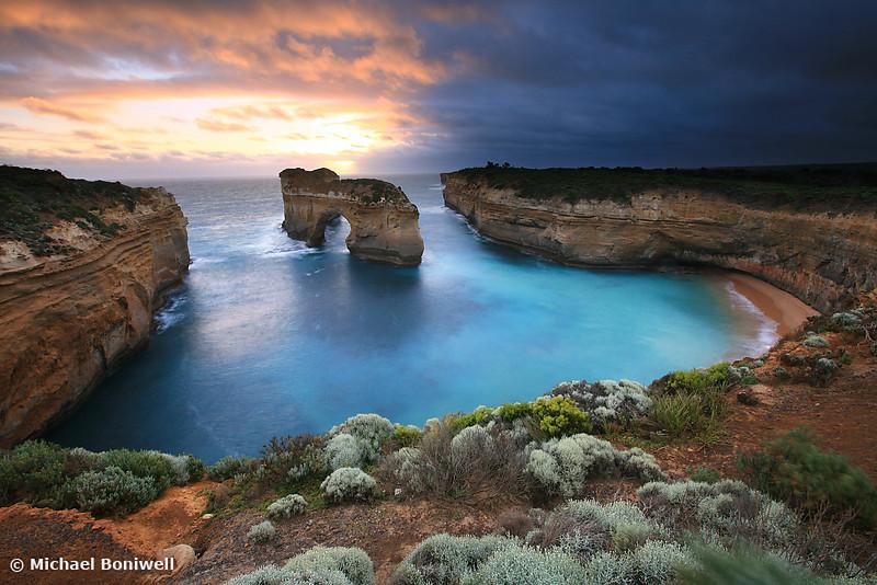 Island Arch, Great Ocean Road, Victoria, Australia
