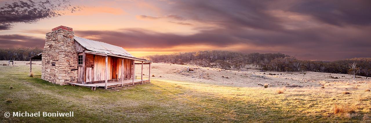 David Brayshaws Hut, Namadgi National Park, ACT, Australia