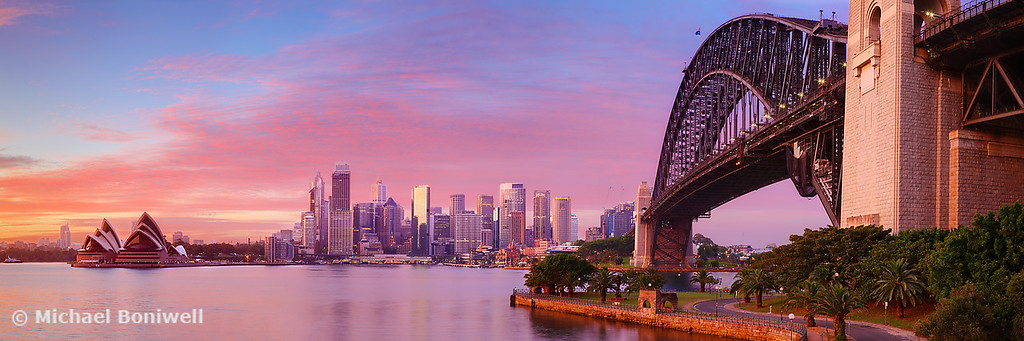 Sydney Harbour Bridge Dawn, New South Wales, Australia