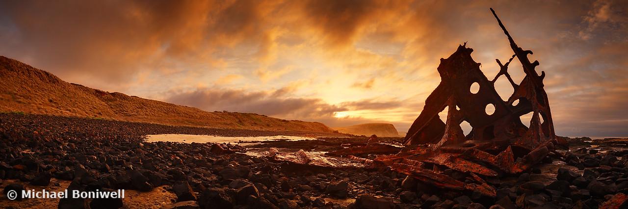 Speke Wreck, Phillip Island, Victoria, Australia