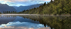 Lake Matheson Dawn, South Island, New Zealand