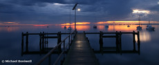 A Winter's Dawn on the Pier, Victoria, Australia