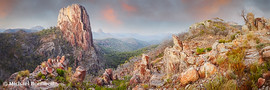 Crator Bluff, Warrumbungles National Park, New South Wales, Australia