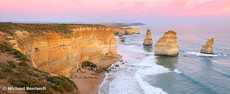 Twelve Apostles at Dusk, Great Ocean Road, Victoria, Australia