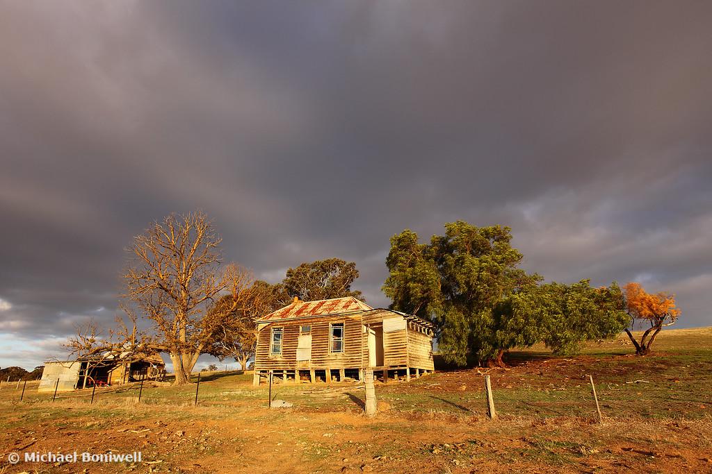 Farmhouse Stormclouds, Castlemaine, Victoria, Australia