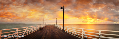 Shorncliffe Pier, Brisbane, Queensland, Australia