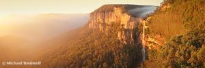 Bridal Veil Falls, Govetts Leap, Blue Mountains, New South Wales, Australia