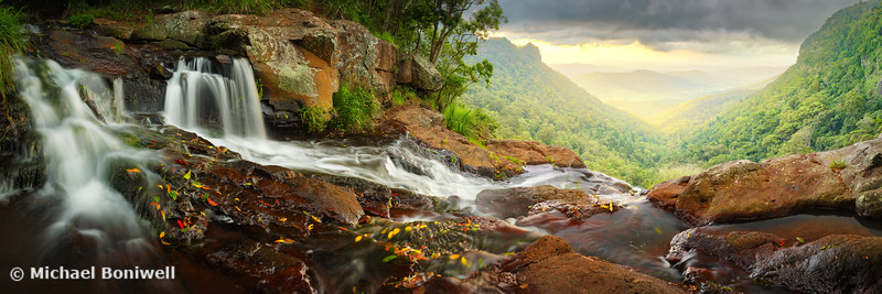 Morans Falls, Lamington National Park, Queensland, Australia