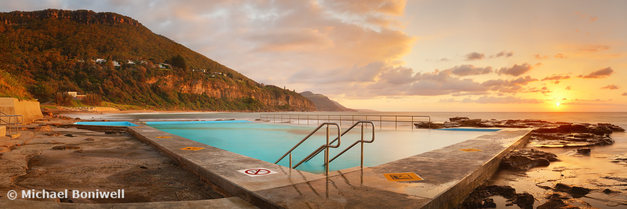 Coalcliff Rock Pool, New South Wales, Australia