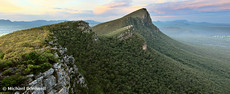 Sentinel Peak guards Twilight, Grampians, Victoria, Australia