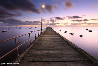 Pre-dawn Glow, Mornington Peninsula, Victoria, Australia