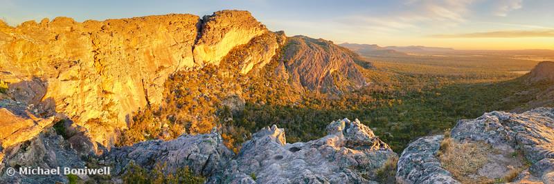 Mount Stapylton, Grampians, Victoria, Australia