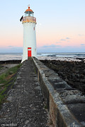 Moonrise, Port Fairy Lighthouse, Victoria, Australia