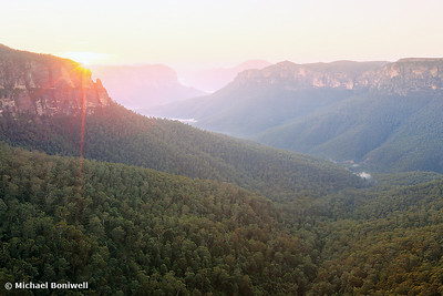 Govetts Leap, Blue Mountains, New South Wales, Australia