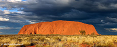 Ayers Rock (Uluru) Sunset, Northern Territory, Australia