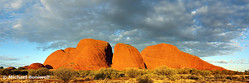 The Olgas (Kata Tjuta), Sunset, Northern Territory, Australia