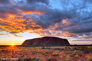 Uluru (Ayers Rock) Sunrise, Northern Territory, Australia