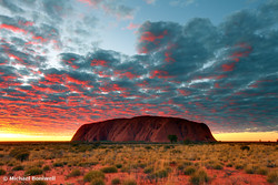 Ayers Rock (Uluru) Sunrise, Northern Territory, Australia