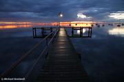 Winter's Dawn on the Pier, Geelong, Victoria, Australia