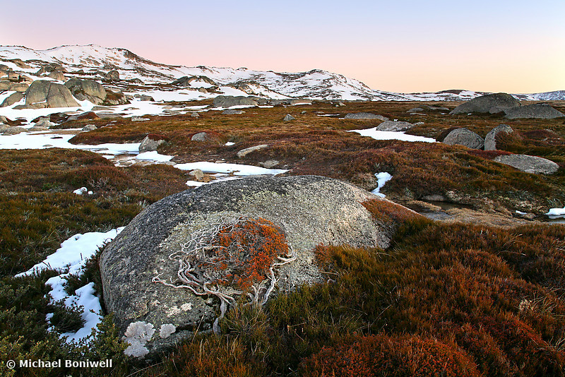 Wind Swept Valley, Kosciuszko National Park, New South Wales, Australia