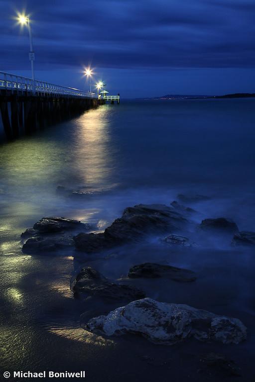 After Dark, Point Lonsdale Pier, Victoria, Australia