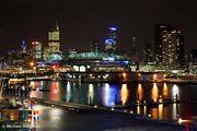 Docklands By Night, Melbourne, Victoria, Australia
