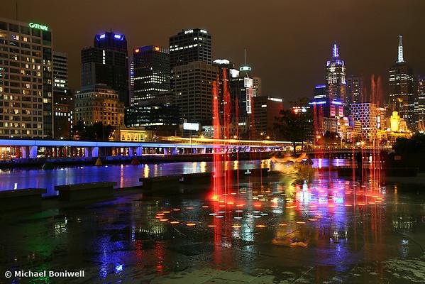 Casino Lights, Melbourne, Victoria, Australia