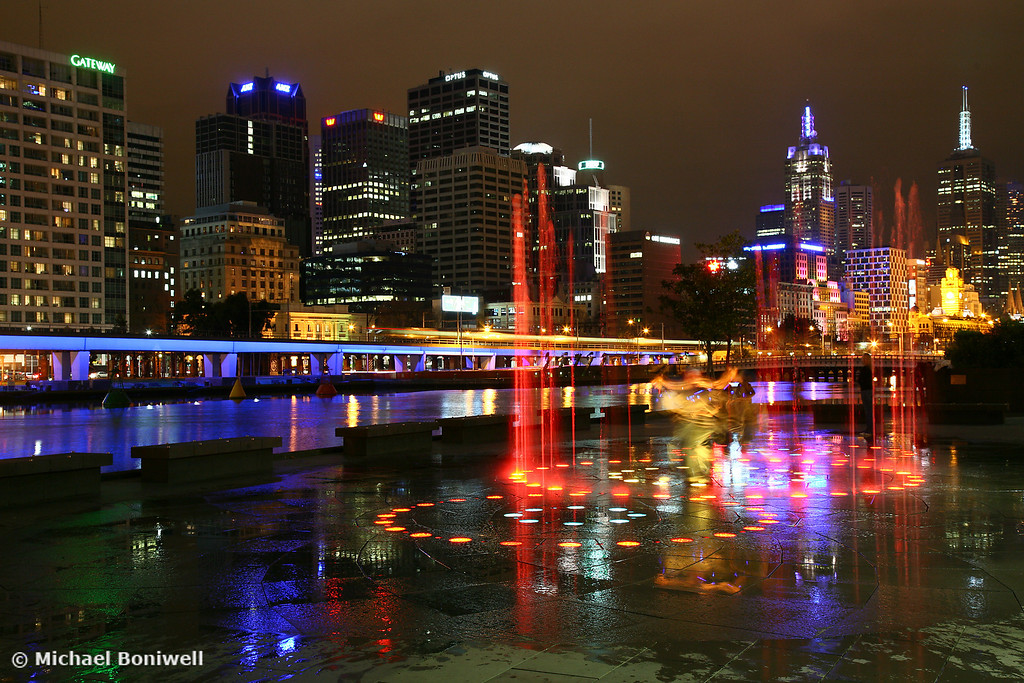 Casino Lights, Melbourne, Victoria, Australia