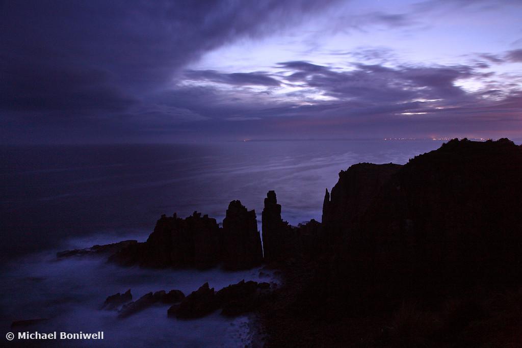 The Pinnacles at Dusk, Phillip Island, Victoria