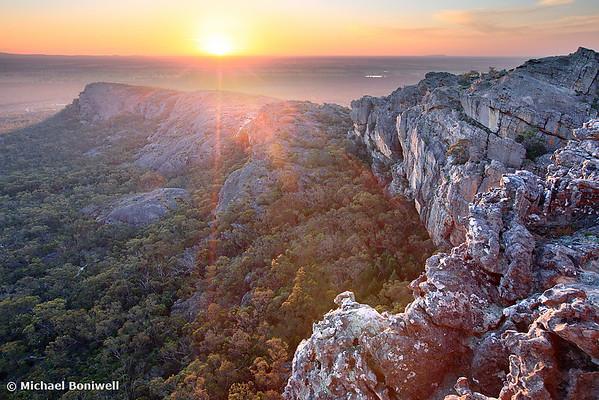 Flat Rock, Mt Stapylton, Grampians, Victoria, Australia