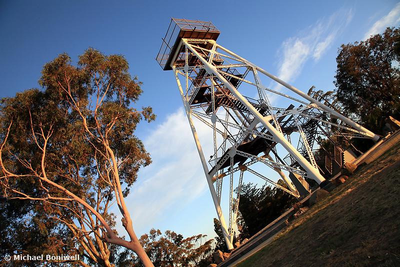 Bendigo Poppet Head, Victoria, Australia