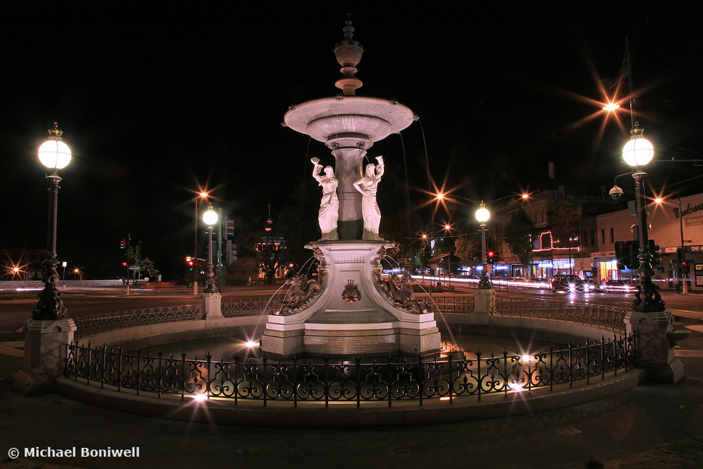 Bendigo Fountain, Victoria, Australia