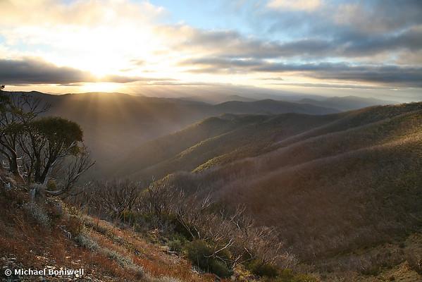 Last of the light, Mt Hotham, Victoria, Australia