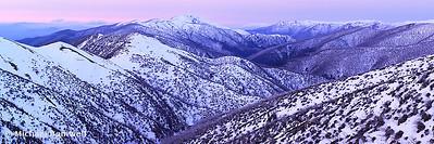 Mt Feathertop Twilight, Victoria, Australia