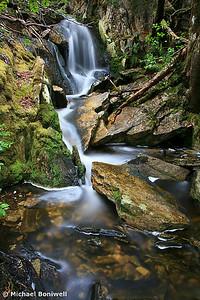 Falls below Cradle, Cradle Mountain National Park, Tasmania, Australia